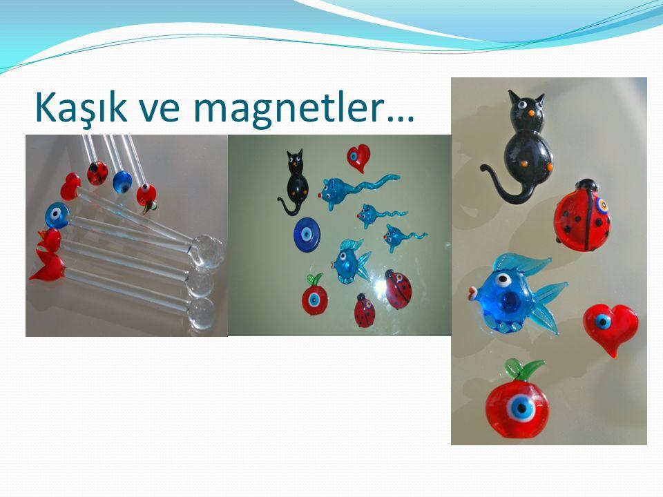 Kaşık ve magnetler…