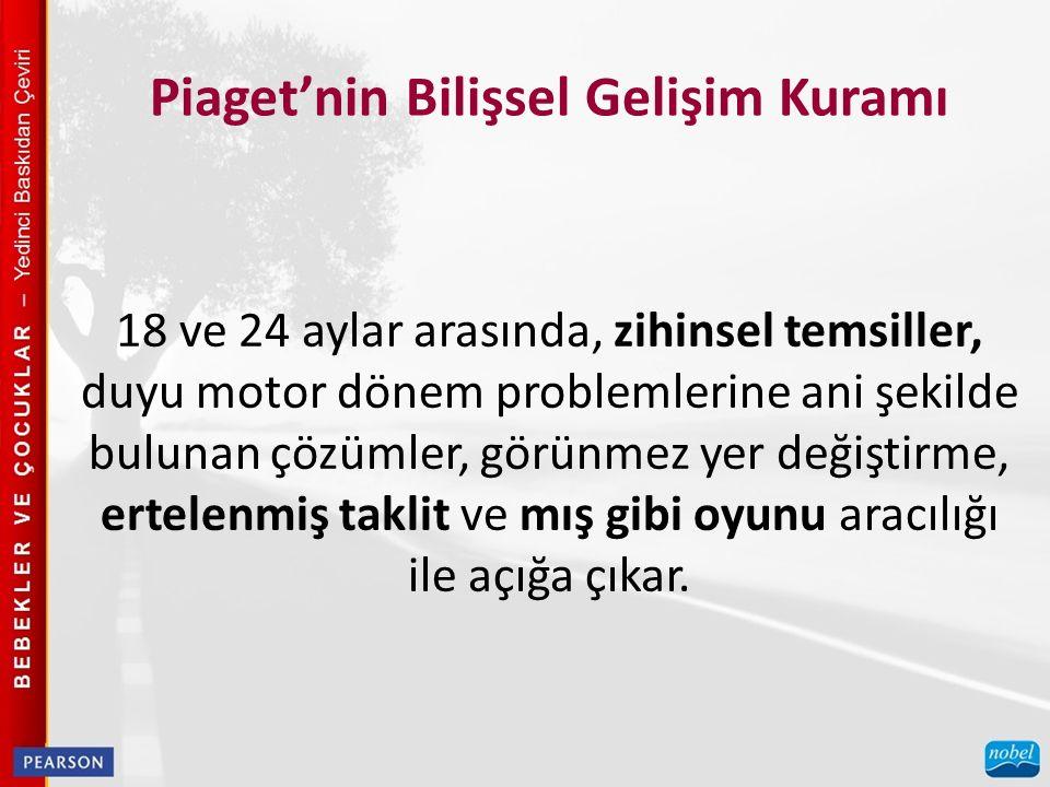 Piaget'nin Bilişsel Gelişim Kuramı İzleme çalışmaları, Piaget'nin duyu motor döneminin doğruluğu hakkında ne söylemektedir.