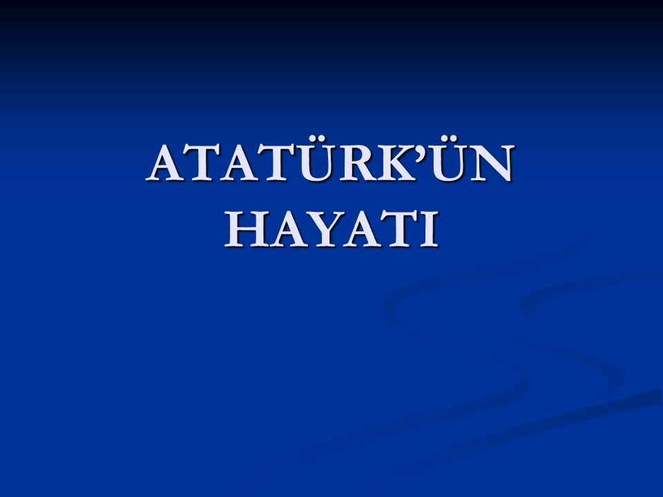 Atatürk okula başladıktan sonra babası öldü. Babası öldüğünde Atatürk 7 yaşındaydı.