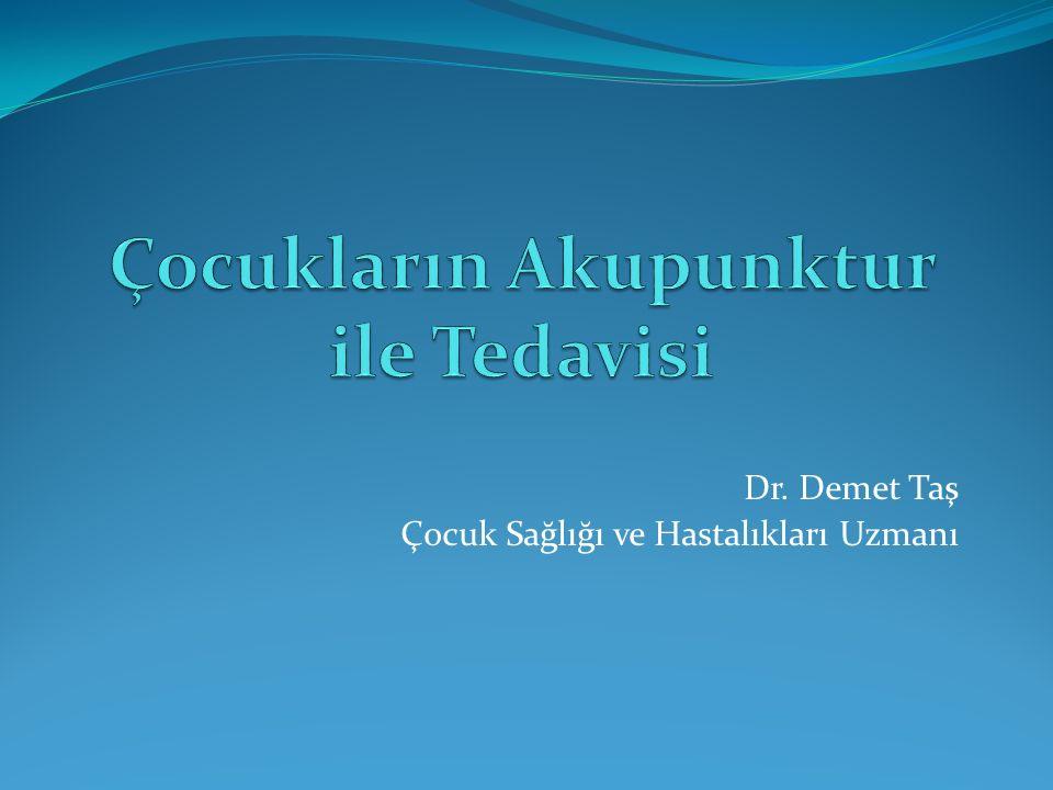 Dr. Demet Taş Çocuk Sağlığı ve Hastalıkları Uzmanı