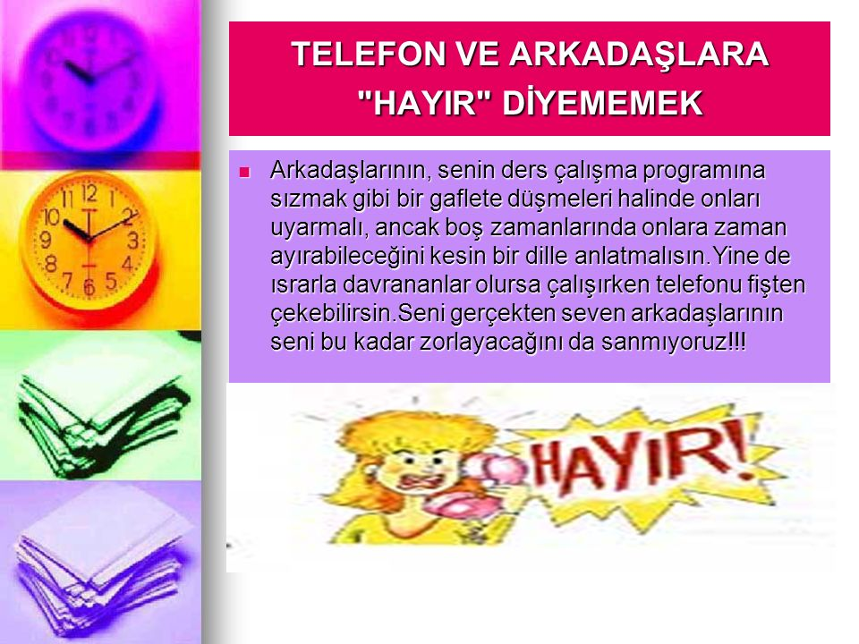 TELEFON VE ARKADAŞLARA