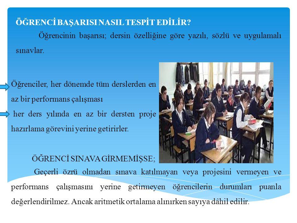 ÖĞRENCİ BAŞARISI NASIL TESPİT EDİLİR.