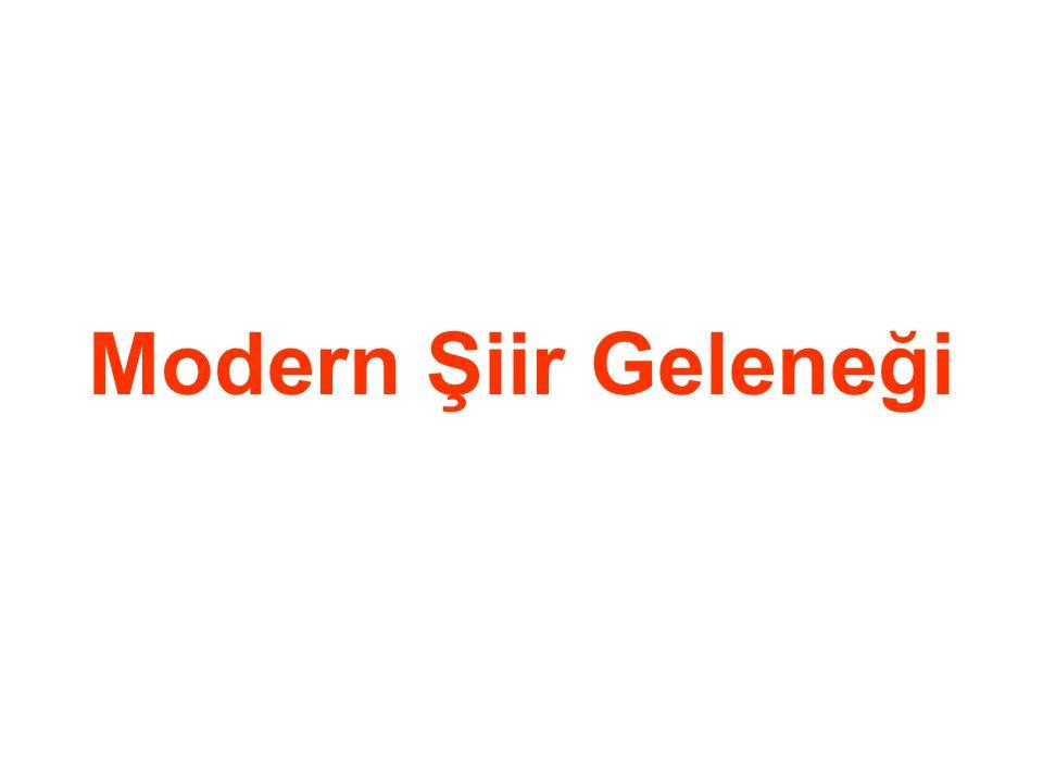 Modern Şiir Geleneği