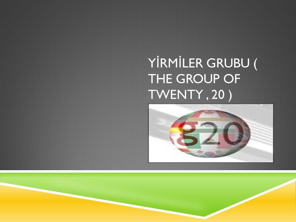 G20 NED İ R .