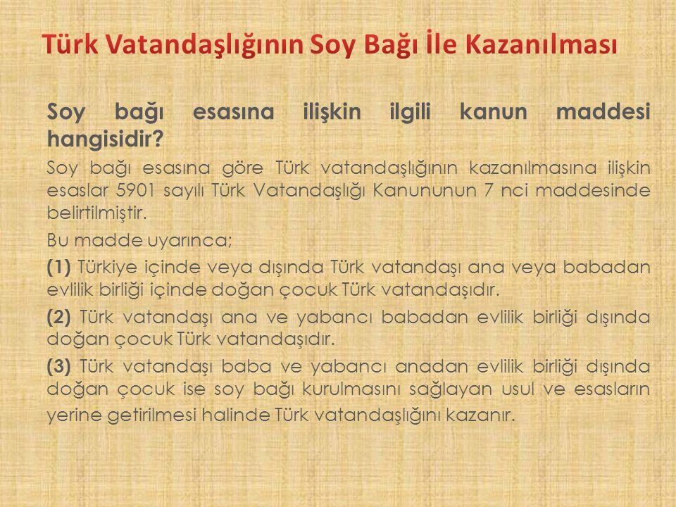 Türk vatandaşlığının seçme hakkı ile kaybında gerekli şartlar nelerdir.