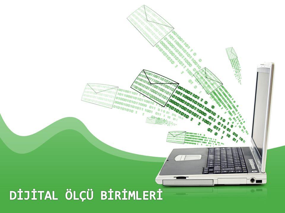 Dijital Ölçüler konusunu öğreneceğiz Dijital Ölçüler konusunu öğreneceğiz