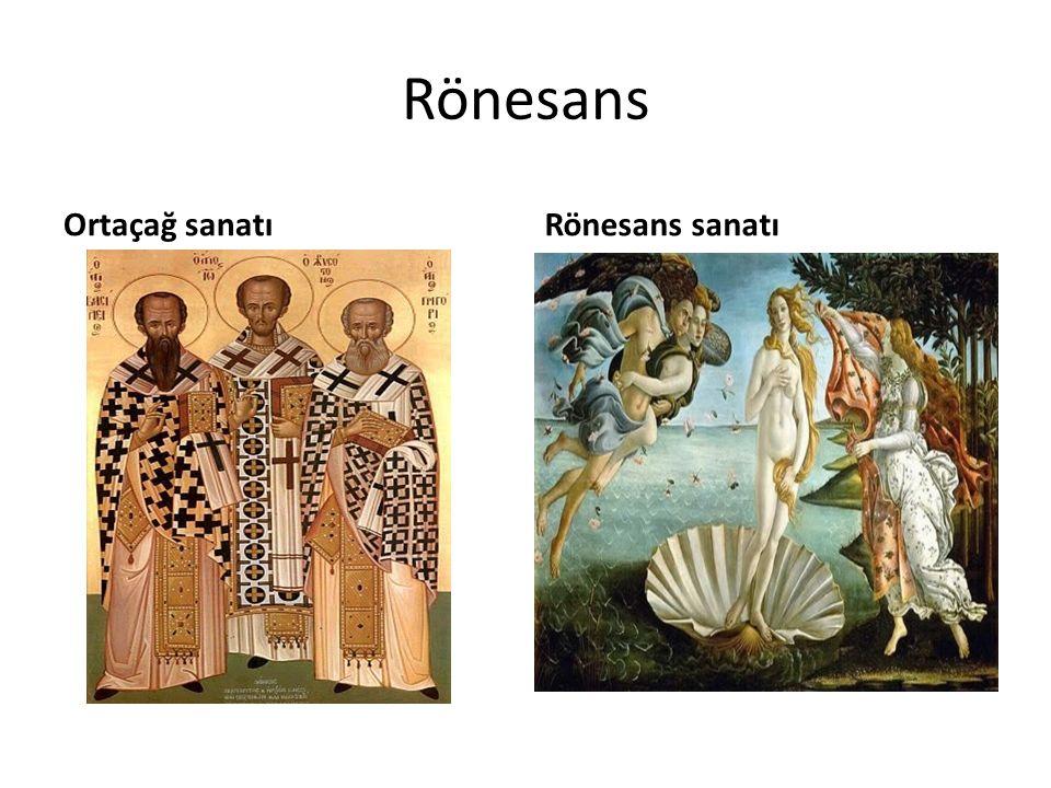 Rönesans Ortaçağ sanatıRönesans sanatı