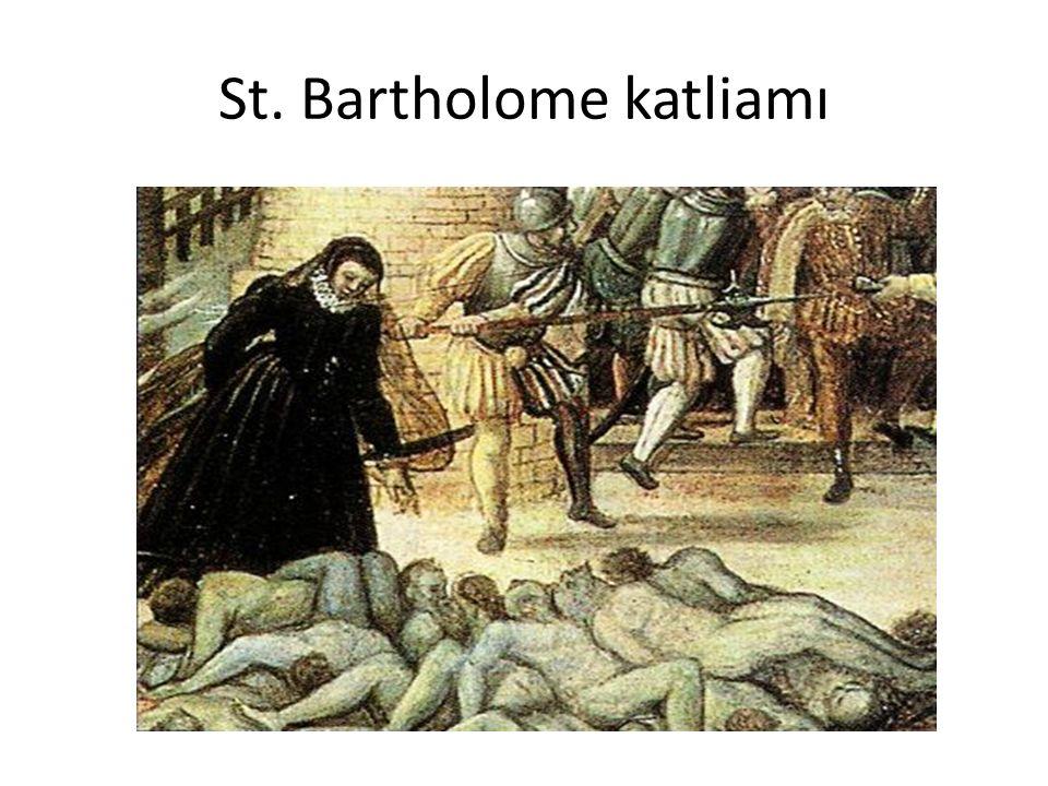 St. Bartholome katliamı
