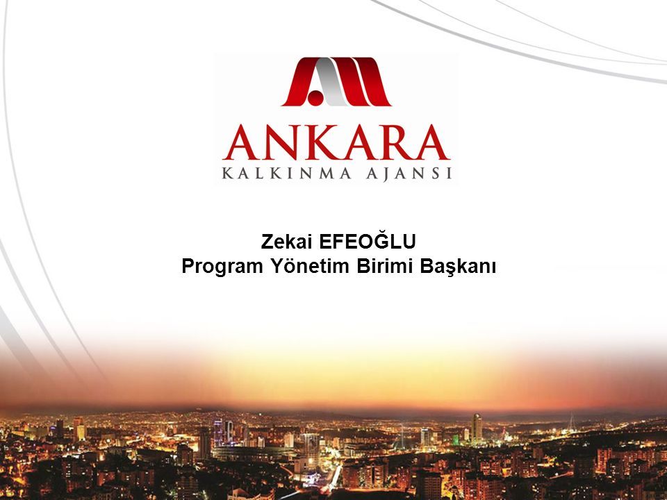 Zekai EFEOĞLU Program Yönetim Birimi Başkanı