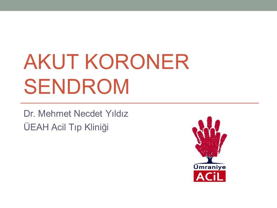 Non-STEMI AKS'de antitrombinler: Enoksaparin(clexane): 30 mg IV, ardından her 12 saatte bir 1 mg/kg(Sc).