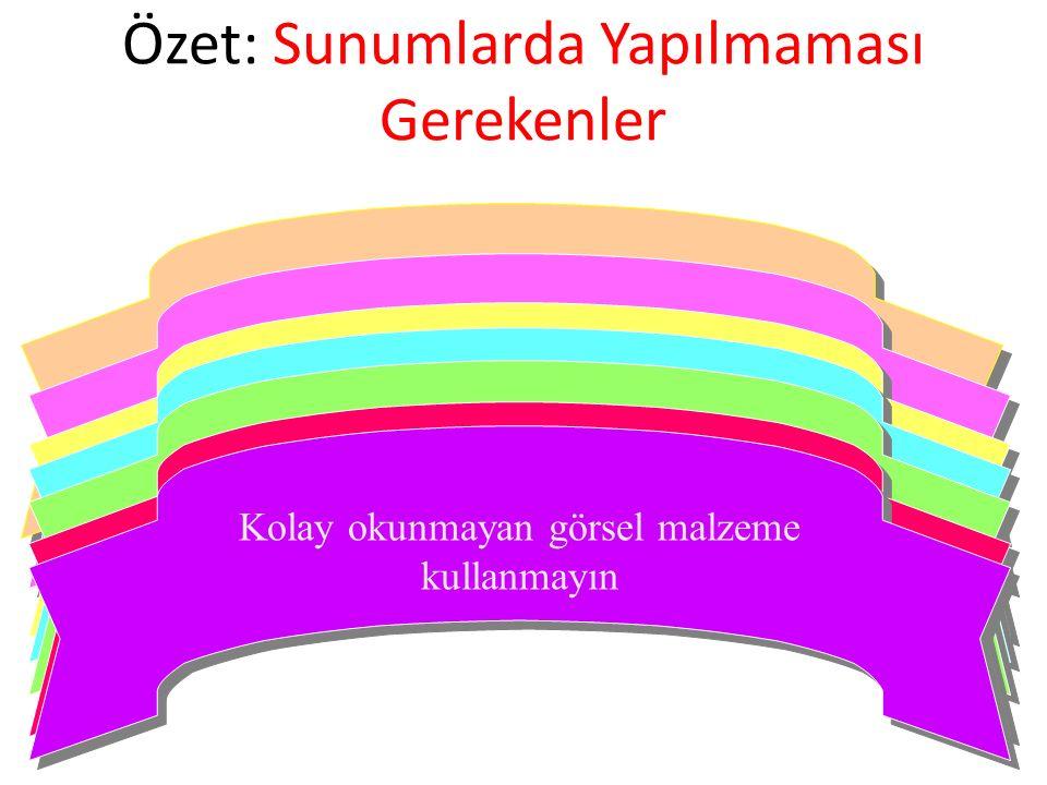 Gösterilen slaytta yazılı olan metindeki cümlelerin tıpatıp aynısını konuşmanızda kullanmayın Gösterilen slaytta yazılı olan metindeki cümlelerin tıpa
