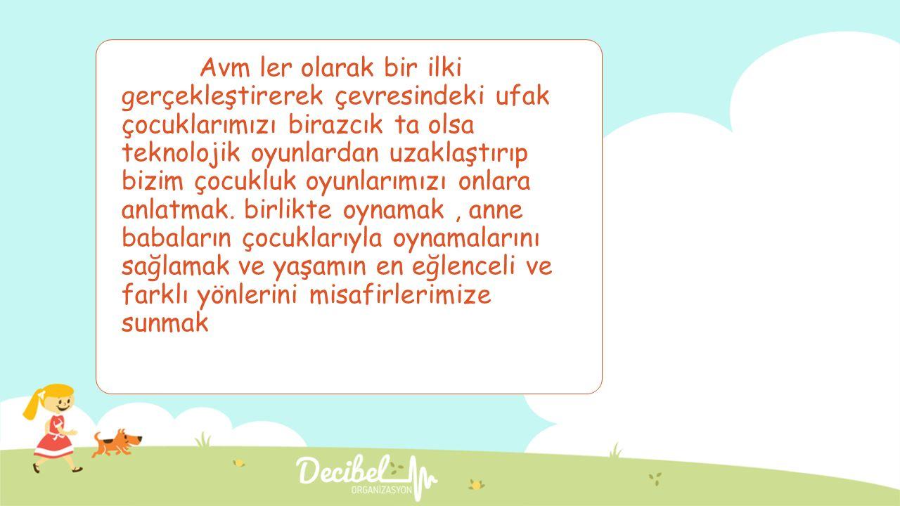 Türkiye'nin İlk yaşayan çocuk oyun müzesi sizleri bekliyor.