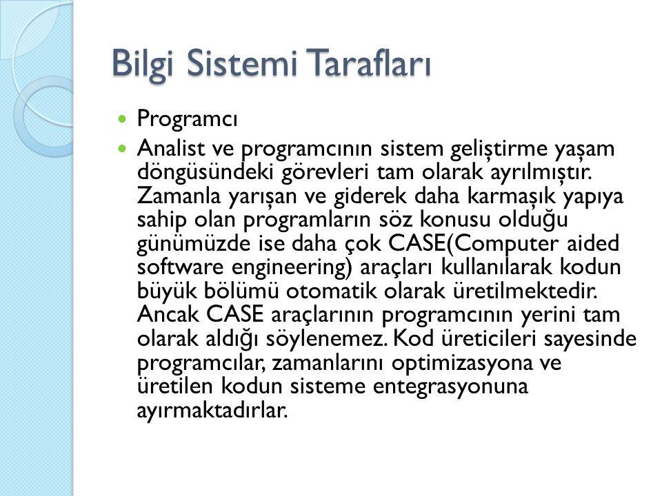 Ayrıntılı Tasarım 1-Çıktı Tasarımı Çıktı, bilgi sisteminin kullanıcılara verdi ğ i bilgidir.