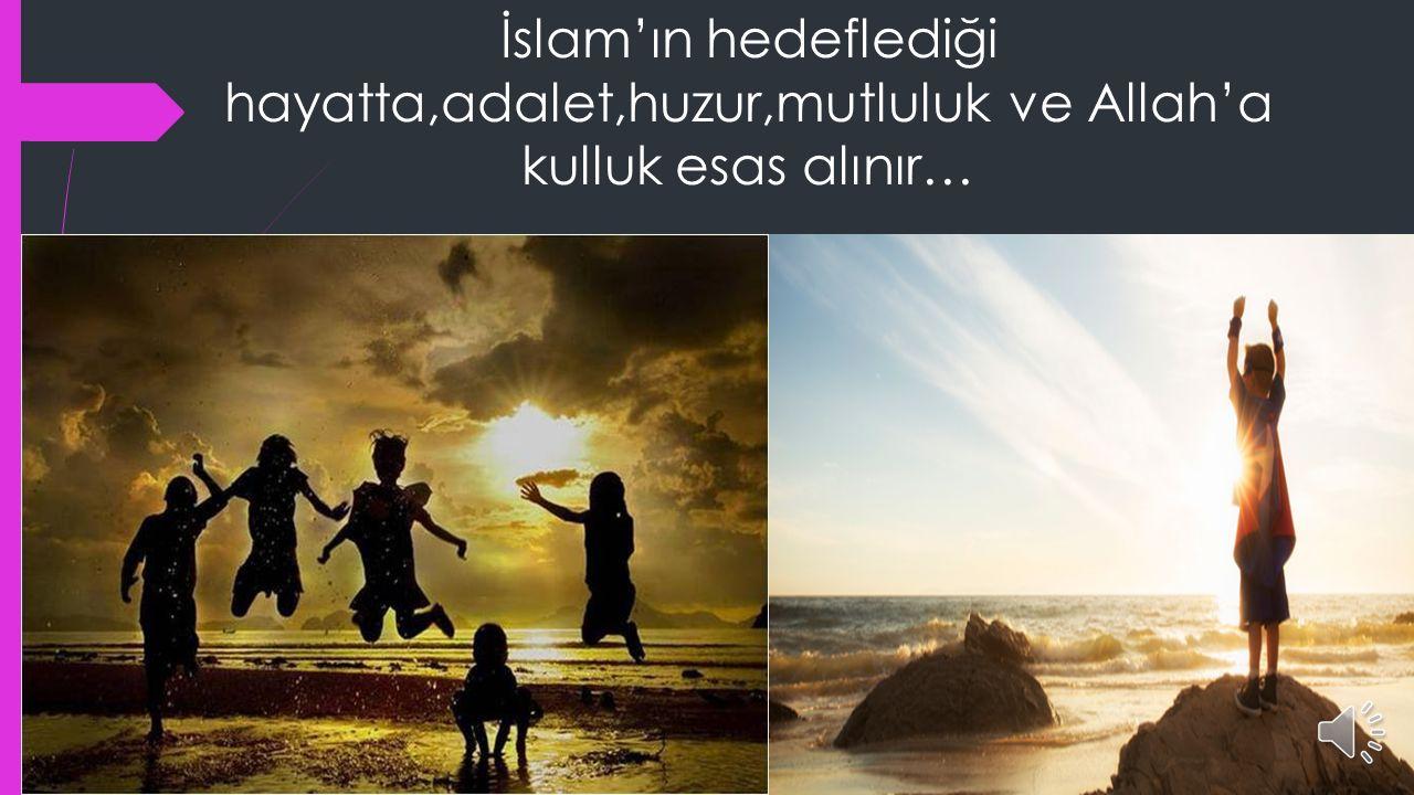 İslam ın oluşturmak istediği toplumun temel dinamiği nasıl inşa edilmelidir.