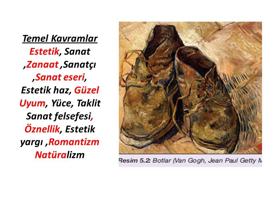 E.ORTAK ESTETİK YARGILAR 1.
