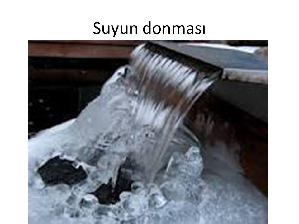 Suyun donması