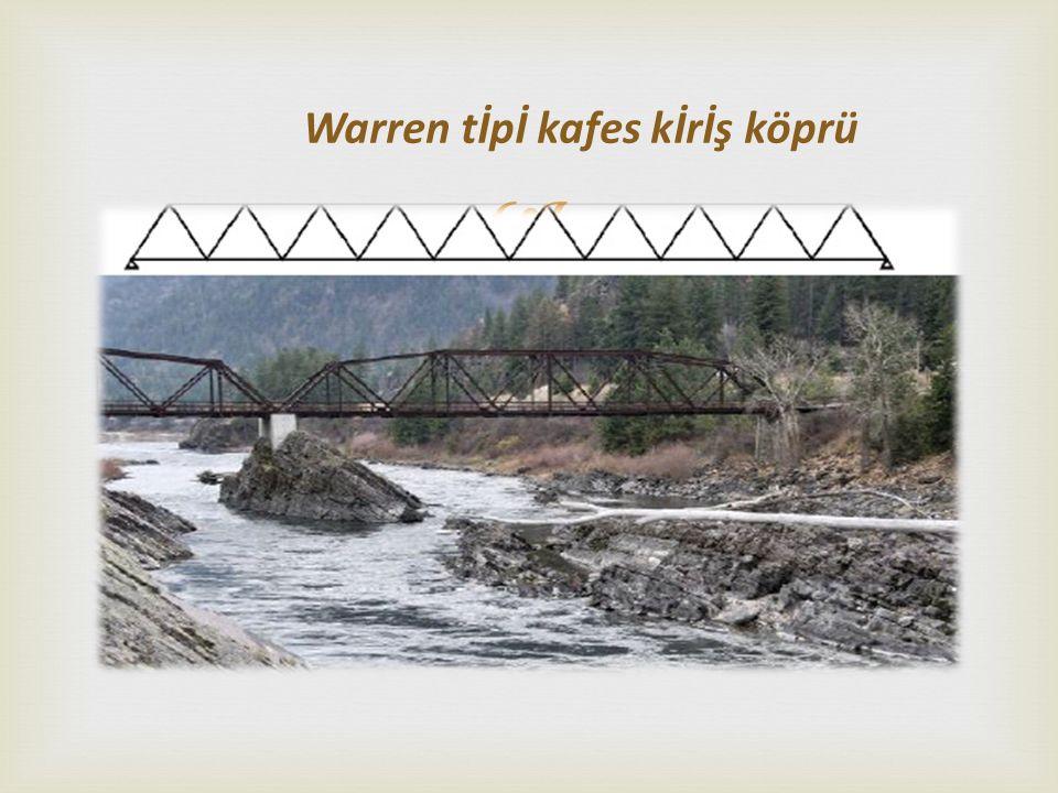  Warren tİpİ kafes kİrİş köprü