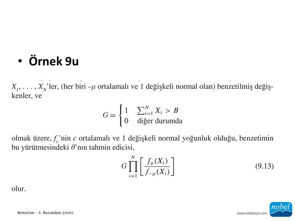 Örnek 9u