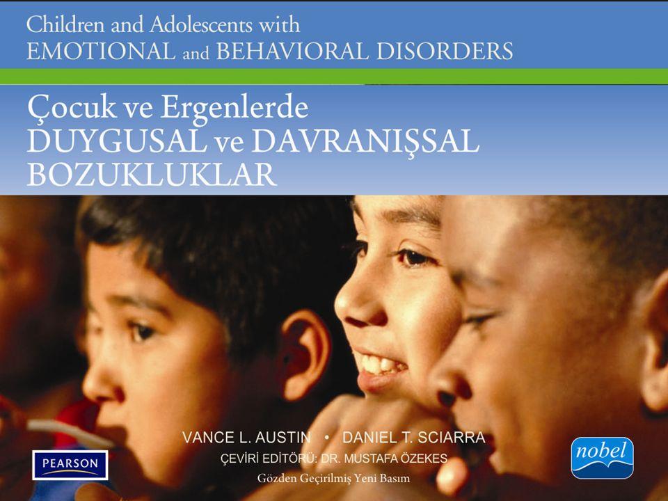 Özet Bu bölümde okul çağındaki çocuklar ve gençlerde görülen yaygın anksiyete bozukluğu (YAB), travma sonrası stres bozukluğu (TSSB) ve obsesif- kompulsif bozukluğu (OKB) inceledik.