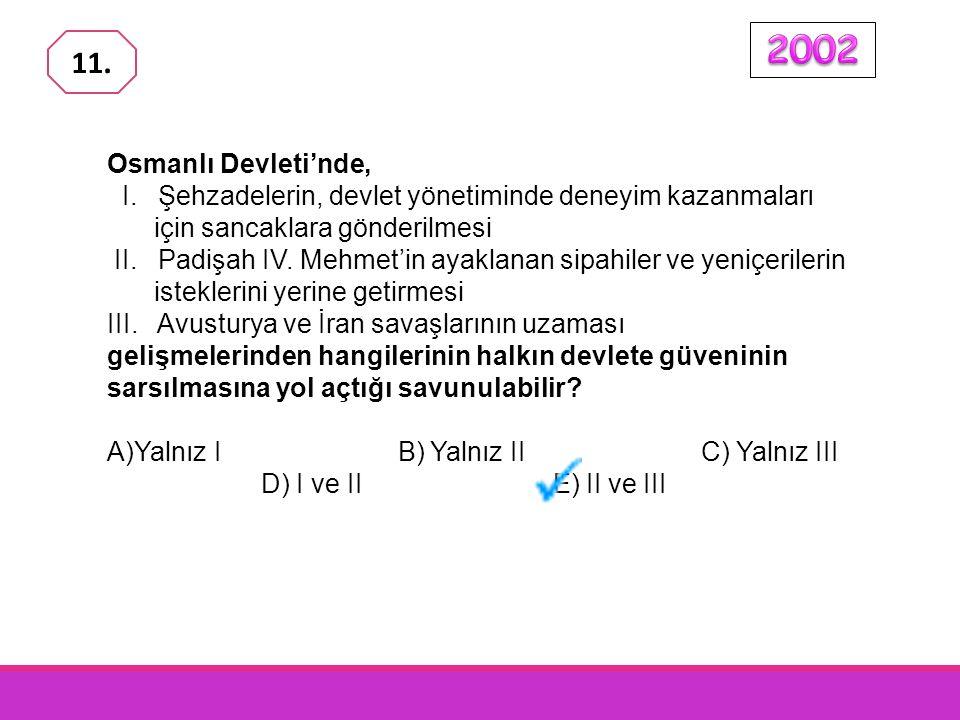 Osmanlı Devleti'nin kuruluşundan XVII. yüzyıla kadar geçen 300 yıllık süre içinde yalnızca elli beş sadrazam işbaşına geldiği hal- de, XVII. yüzyılda