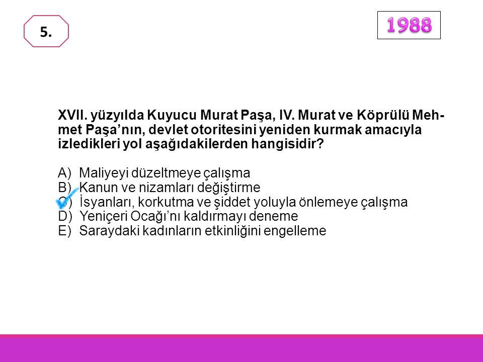 Aşağıdakilerden hangisi, Osmanlı İmparatorluğu'nun duraklama-sına yol açan iç nedenlerinden biridir? A) Ülkede, çeşitli milletlerden ve dinlerden kişi