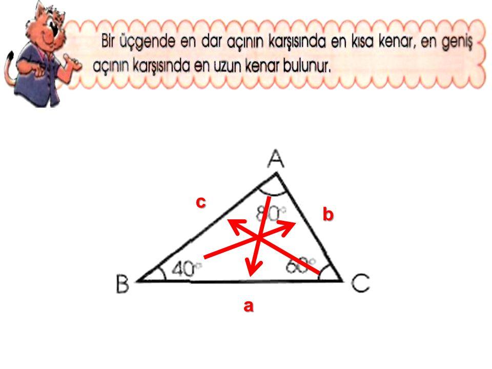 b a c