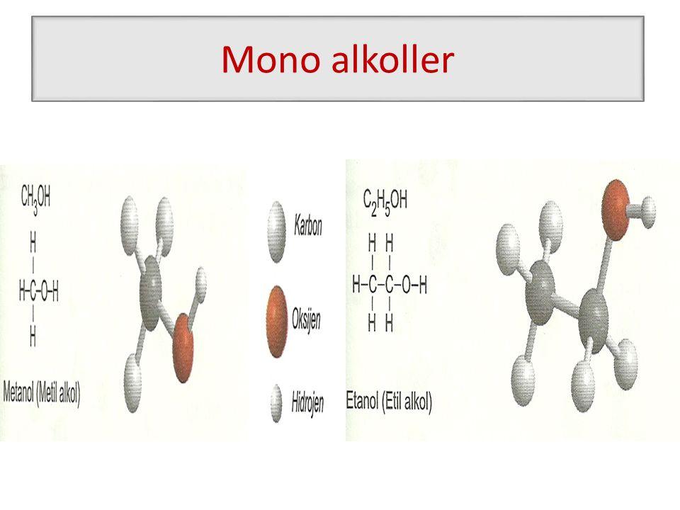 Mono alkoller