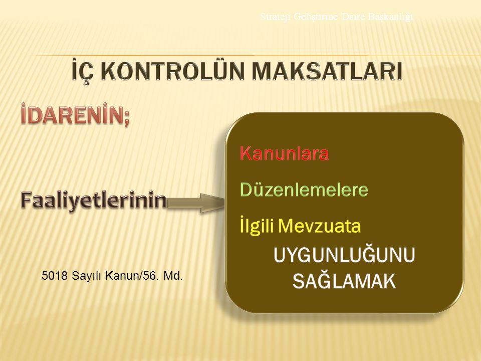5018 Sayılı Kanun/56. Md.