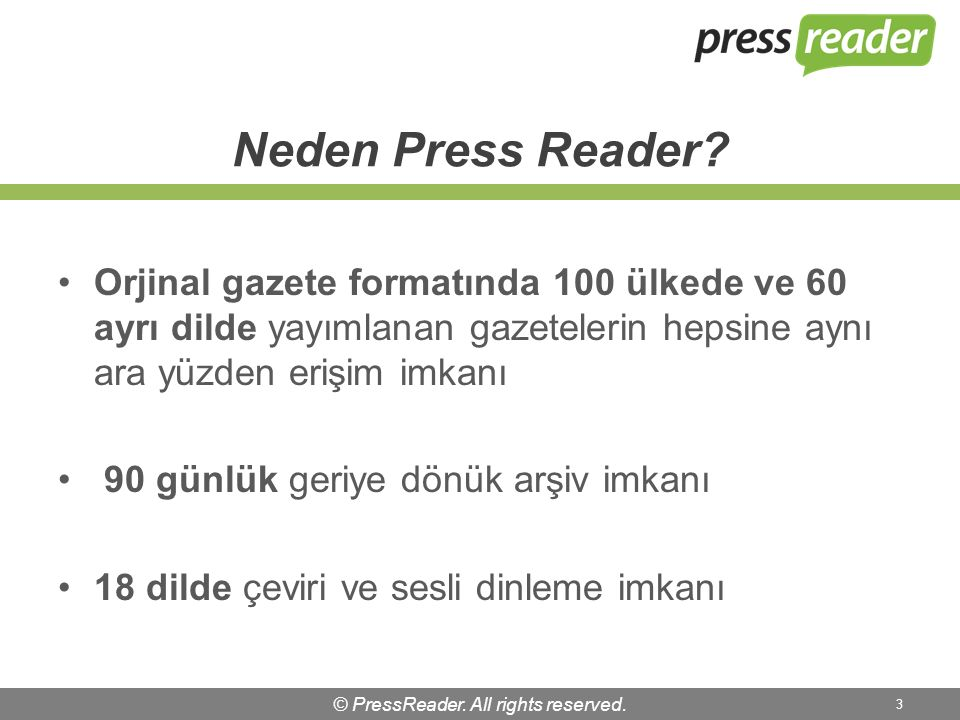 © PressReader. All rights reserved. 14 Connecting People Through News