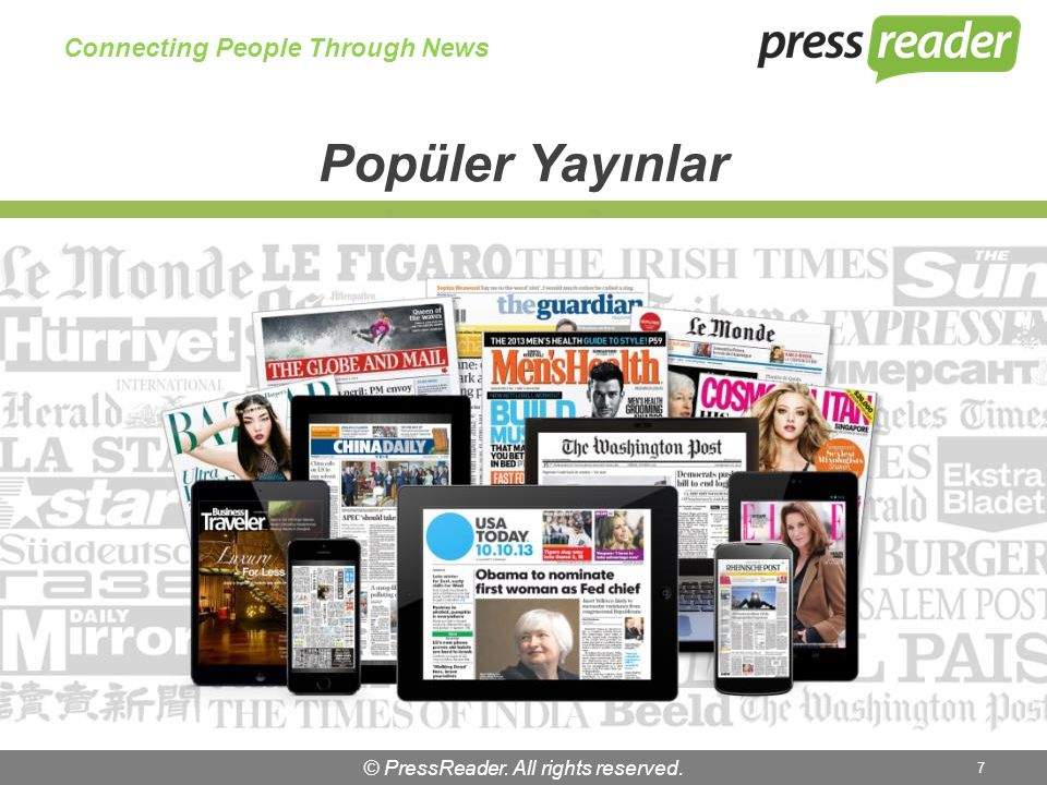 © PressReader. All rights reserved. 18 Connecting People Through News