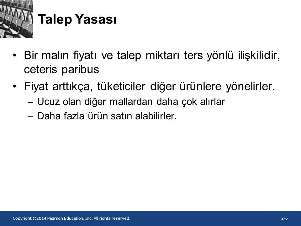 Copyright ©2014 Pearson Education, Inc. All rights reserved.2-7 Şekil 2.1.
