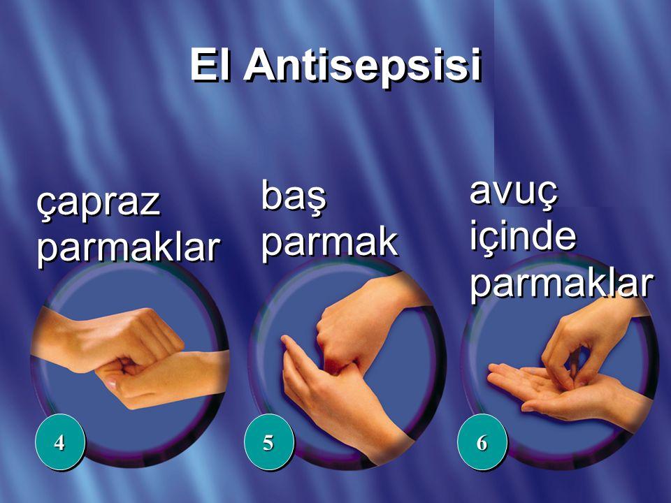 TEHLİKE ELLERİNDE çapraz parmaklar baş parmak 445566 avuç içinde parmaklar El Antisepsisi