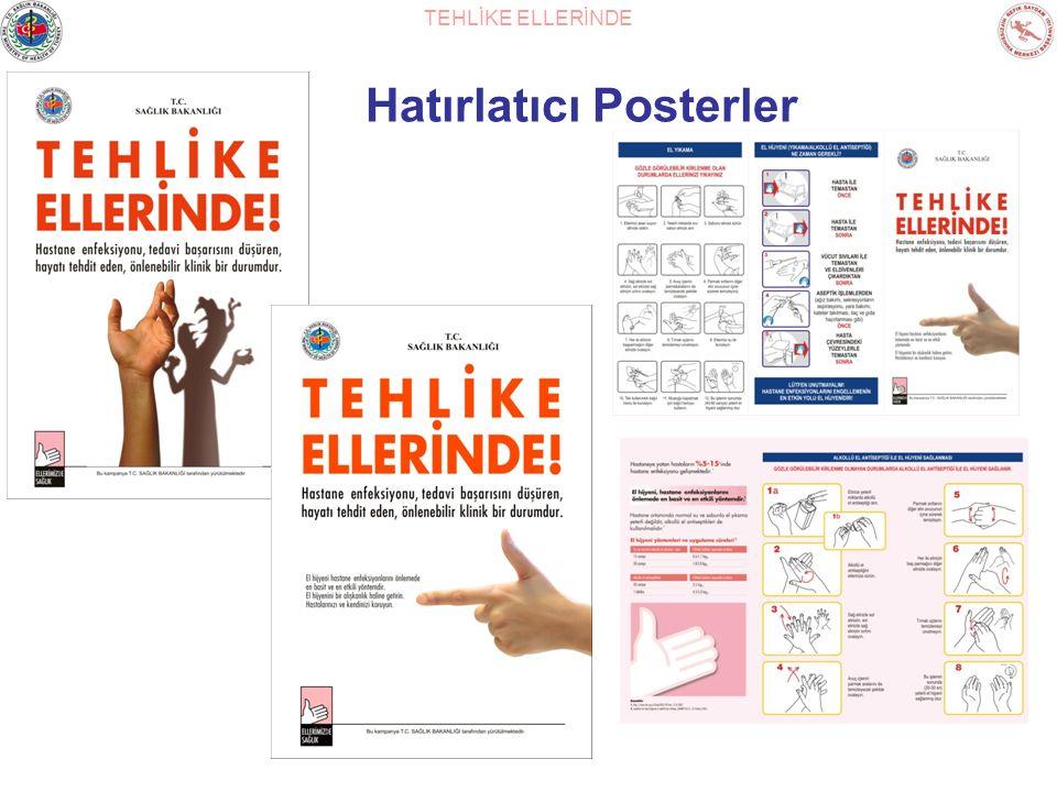TEHLİKE ELLERİNDE Hatırlatıcı Posterler