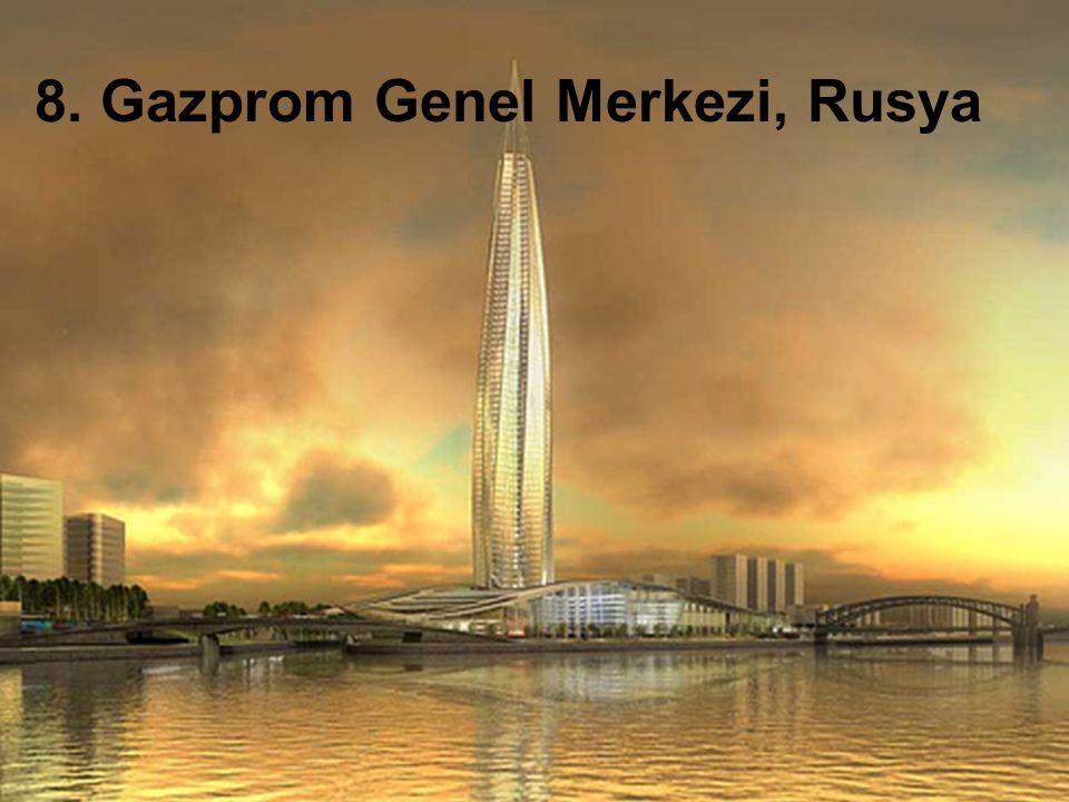 8. Gazprom Genel Merkezi, Rusya
