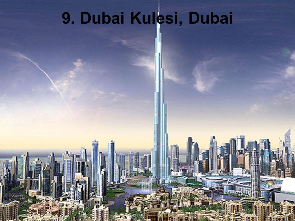 9. Dubai Kulesi, Dubai
