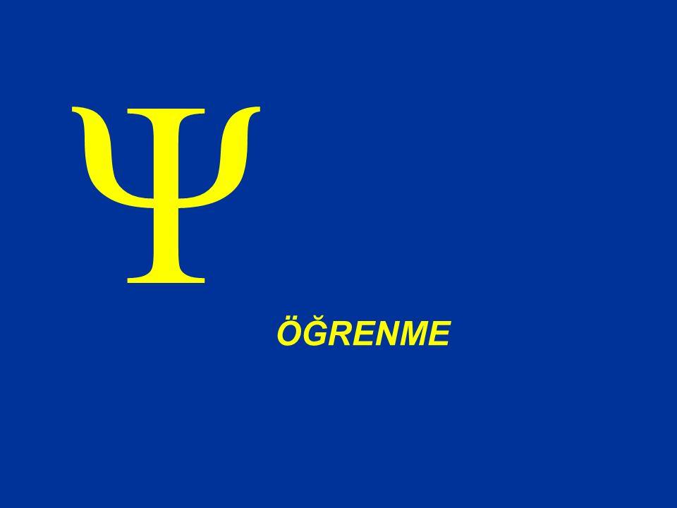 ÖĞRENME Ψ