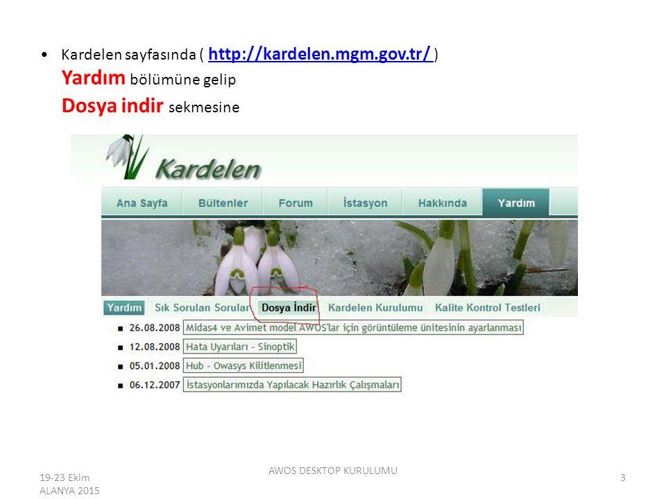 (http://kardelen.mgm.gov.tr/Yardim/indir.aspx)(http://kardelen.mgm.gov.tr/Yardim/indir.aspx Gelen ekranda alt sekmede kardelen ve AWOS Görüntüleme Uygulaması Awosdesktop uygulamalarına ait indirme linkleri bulunmaktadır.