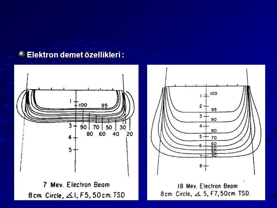 10 Elektron demet özellikleri :