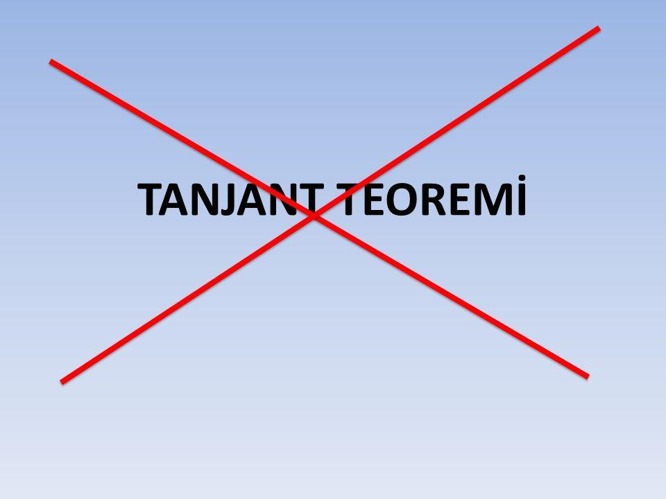 TANJANT TEOREMİ
