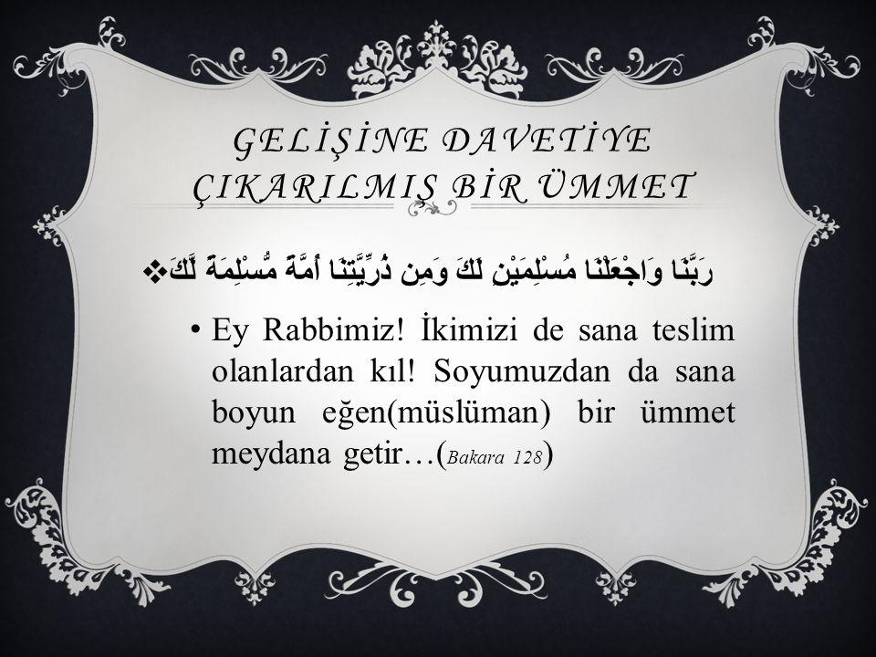  Ümmet-i Muhammed olmanın üstünde başka şeref yoktur. ( Hz. Ömer (r.a ))