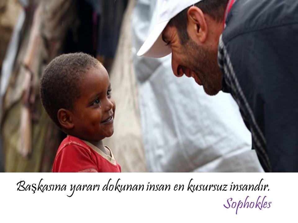 Ba ş kasına yararı dokunan insan en kusursuz insandır. Sophokles