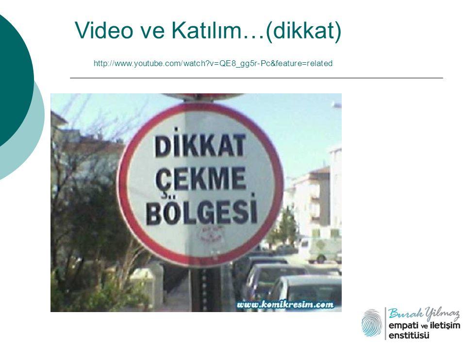 Video ve Katılım…(dikkat) http://www.youtube.com/watch?v=QE8_gg5r-Pc&feature=related
