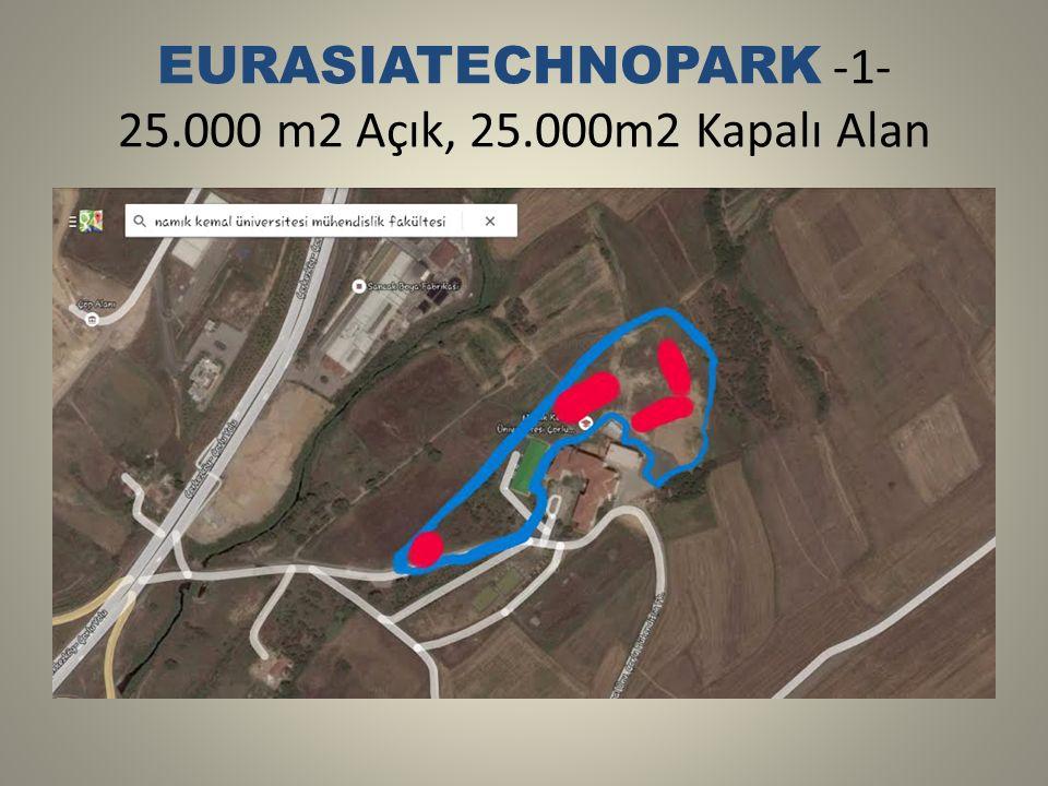 EURASIATECHNOPARK -1- 25.000 m2 Açık, 25.000m2 Kapalı Alan
