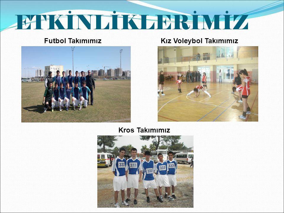 ETKİNLİKLERİMİZ Futbol TakımımızKız Voleybol Takımımız Kros Takımımız