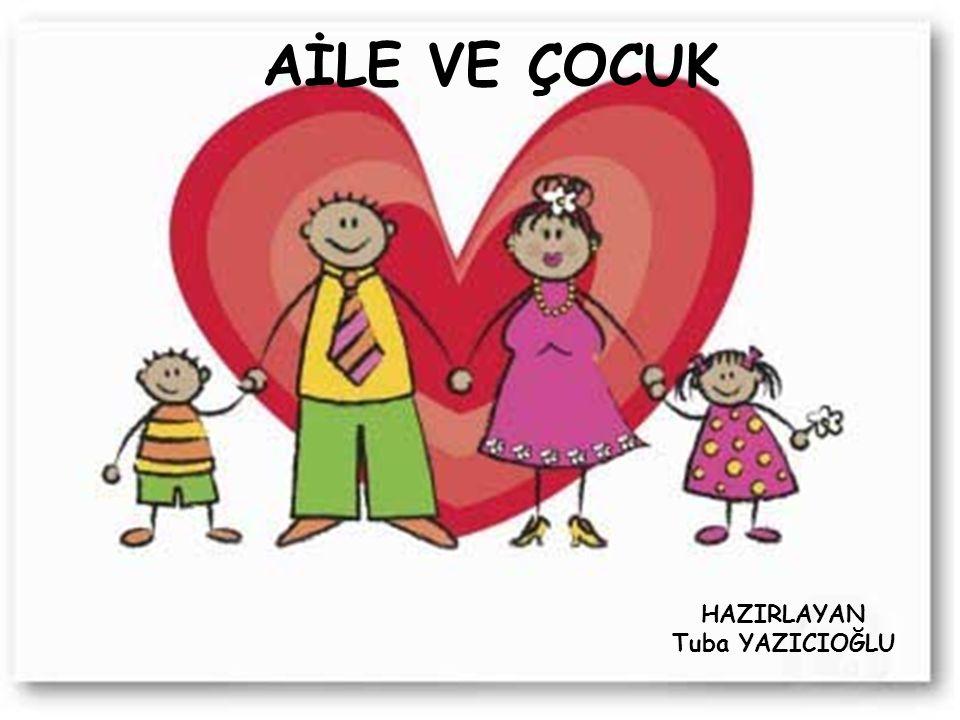 - Aile, yetişkin eşlerden ve çocuklardan oluşan, birbirine duygusal açıdan bağlanmış, ekonomik, sosyal duygusal hak ve sorumlulukları paylaşan bir toplumsal sistemi oluşturmaktadır.