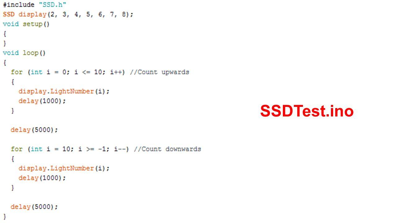SSDTest.ino