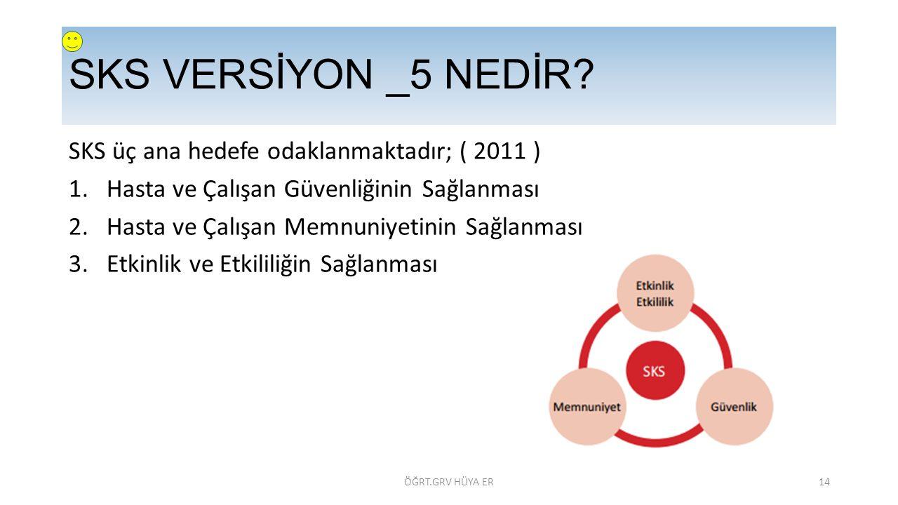 SKS VERSİYON _5 NEDİR.