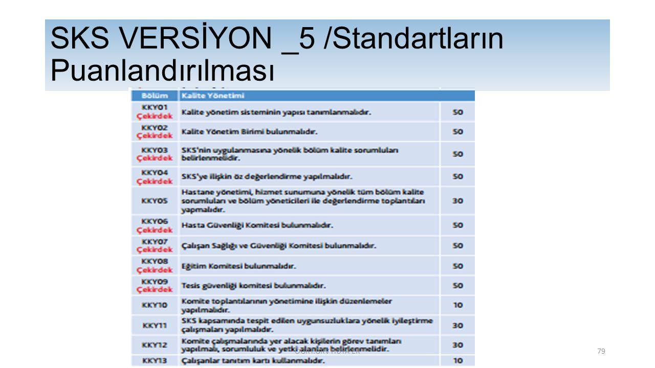 SKS VERSİYON _5 /Standartların Puanlandırılması ÖĞRT.GRV HÜYA ER79