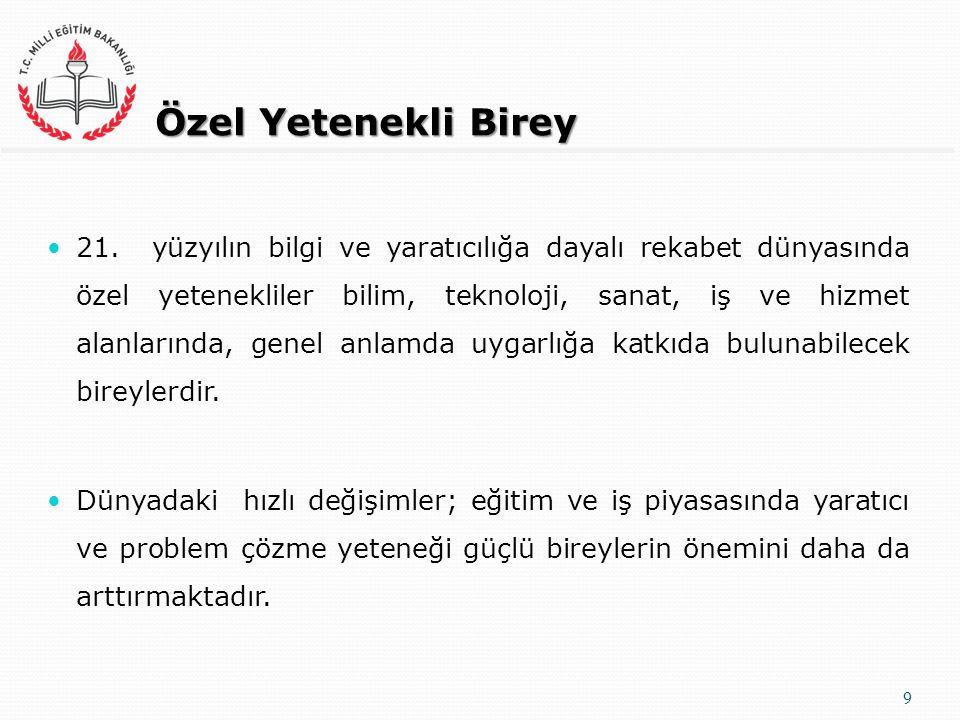 Özel Yetenekli Birey 21.
