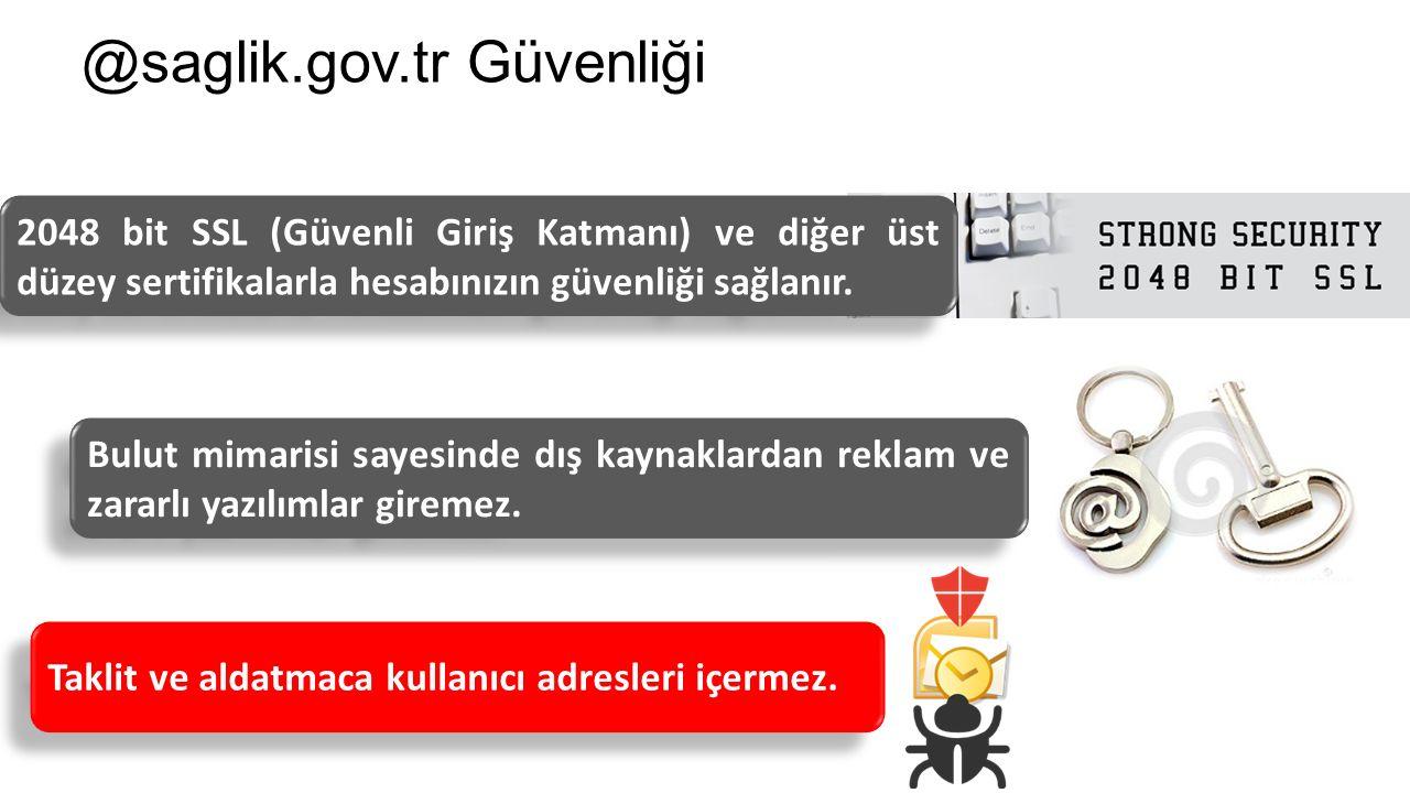 @saglik.gov.tr Güvenliği Taklit ve aldatmaca kullanıcı adresleri içermez.